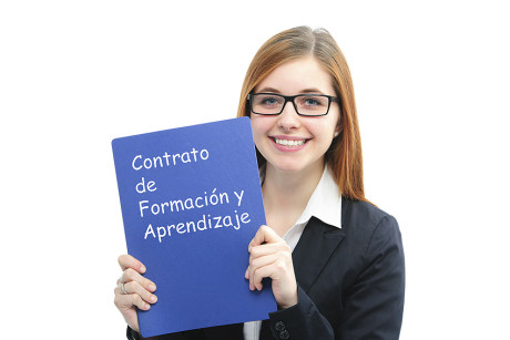 contrato para la formación y el aprendizaje. centro de estudios espadán